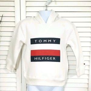 NWT Tommy Hilfiger Boys White Hoodie